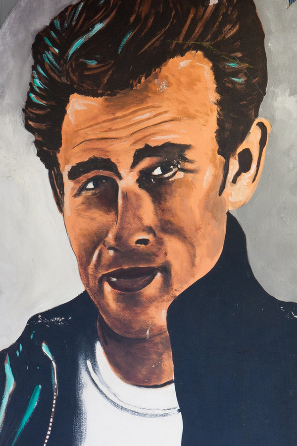 Decoratie decorstuk Rock & Roll James Dean  - huren