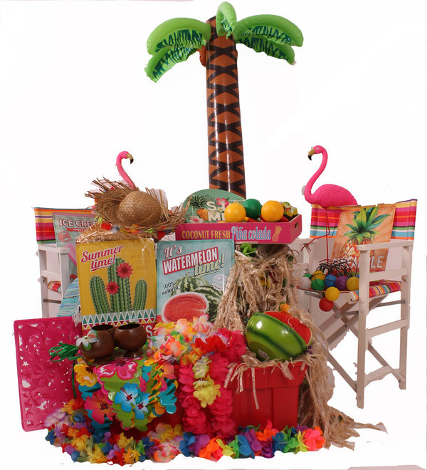 Decoratie Tropical partyboxen - huren